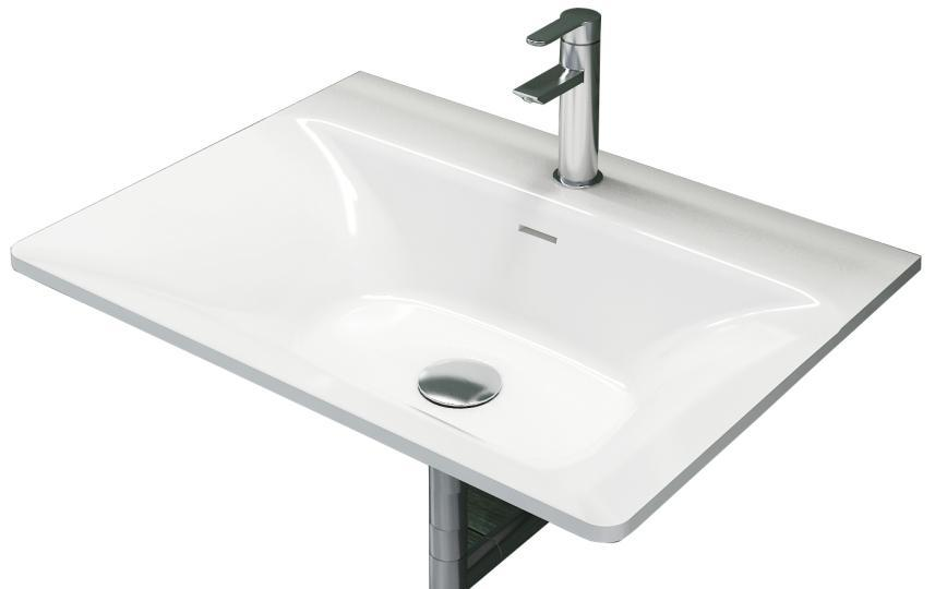 Rectangular Bathroom Wall Hung Corain Vessel Sink Matt Solid Surface Stone  Wall Mounted Washbasin RS38174  Part 45