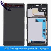 "Liujiang 5.2 ""Pantalla del Reemplazo Para Sony Z3 D6653 D6633 LCD Pantalla Táctil Digitalizador Asamblea Con Marco"