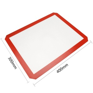 Image 5 - Non Stick Silicone Baking Mats Cookie Pad Rolling Dough Mat High Temperature Resistant Glass Fiber Batters Flour Fondant