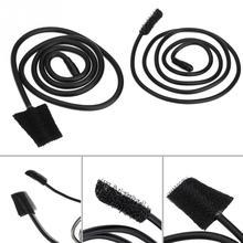2pcs Practical Drain Sink Cleaner Bathroom Unclog Sink Tub Toilet Snake Brush Hair Removal Tool