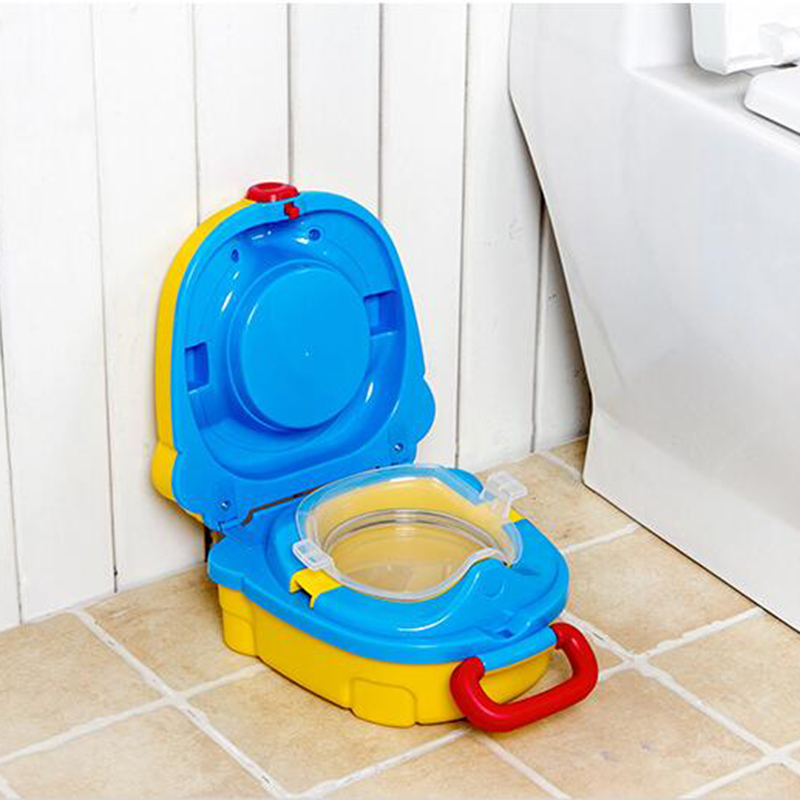 Trainer Seat Kids Boy Essential Toilet Training Urinals Potty Baby Girl Portable Traveling Car Squatty Potty Outdoor Camping