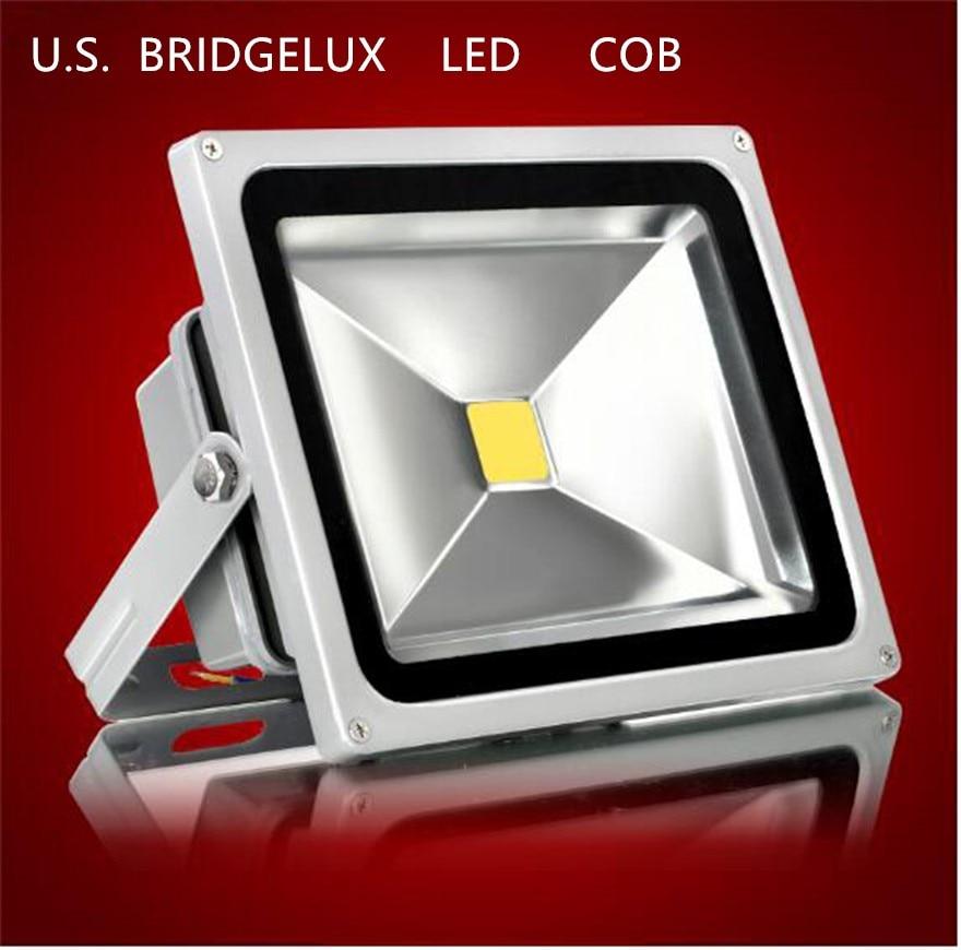 Full Watt COB  LED10W 20/30/50W RGB LED Outdoor Waterproof Flood Light Wash Floodlight Spotlight Lighting AC90-260V IP66