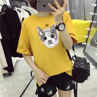 M22 T Shirt Women Cotton Elastic Basic T-shirts Female Casual P30