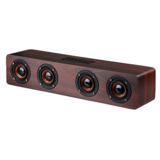 15Pcs HIFI Wireless Bluetooth Speaker Big Power 12W Portable Subwoofer Stereo Soundbar TF FM Column Speakers For PC Phones