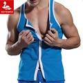 Superbody marca hombre tank top de algodón de fitness stringer chaleco ocasional hombre camisetas camisetas interiores sin mangas hombre singletes culturismo