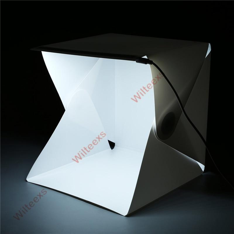 WILTEEXS Mini Photo Studio Box Telón de fondo de fotografía - Cámara y foto - foto 5