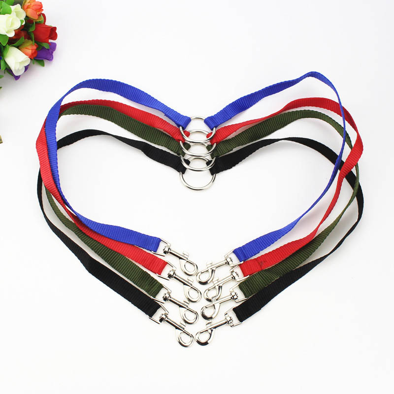 Dog Leash Nylon Pet Accessories Walking Leashes  Collar Lead Leashes 2 In 1 V Shape Couple 2 Way Double