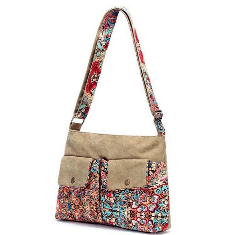 Svart fjäril original design Etnisk stil kanfastryck Blomma kvinnlig - Handväskor - Foto 2
