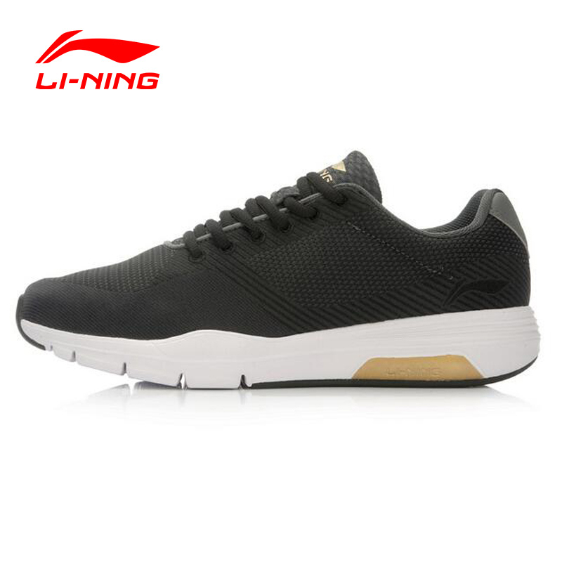 Li-Ning Original Men Shoes Retro Walker Men's Walking Shoes Textile Breathable Sneakers Sports Shoes For Man ACGL047 original li ning men professional basketball shoes