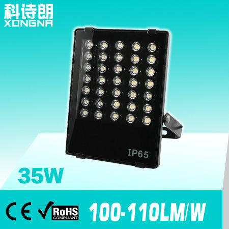 Free Shipping, AC85~265V, Waterproof IP65 35W Outdoor LED Floodlight, High Power Outdoor Flood Lights ultrathin led flood light 200w ac85 265v waterproof ip65 floodlight spotlight outdoor lighting free shipping