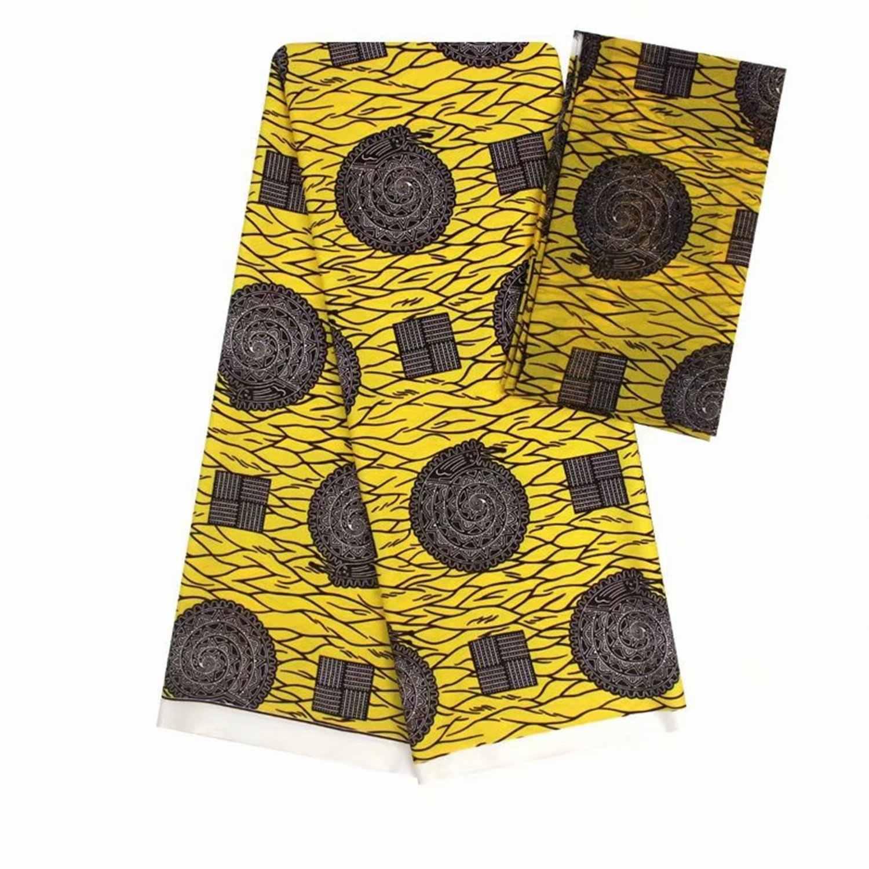 Эластичные атласная шёлковая ткань Африканская мягкая восковая печатная ткань 4 ярдов audel 2 ярд головной убор шифон имитация Анкара, ткань для батика 20
