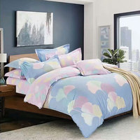 100 Cotton Bedding Set Reactive Printing Leaf Bed Clothing Duvet Cover 1 8m 2 0m Bedspreads