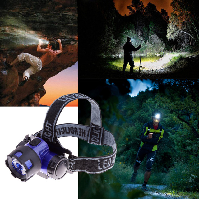 2000 Lumens Waterproof Headlamps XM-L XML T6 LED Flashlight Head Torch Lights for Outdoor Camping Traveling Hiking Fishing