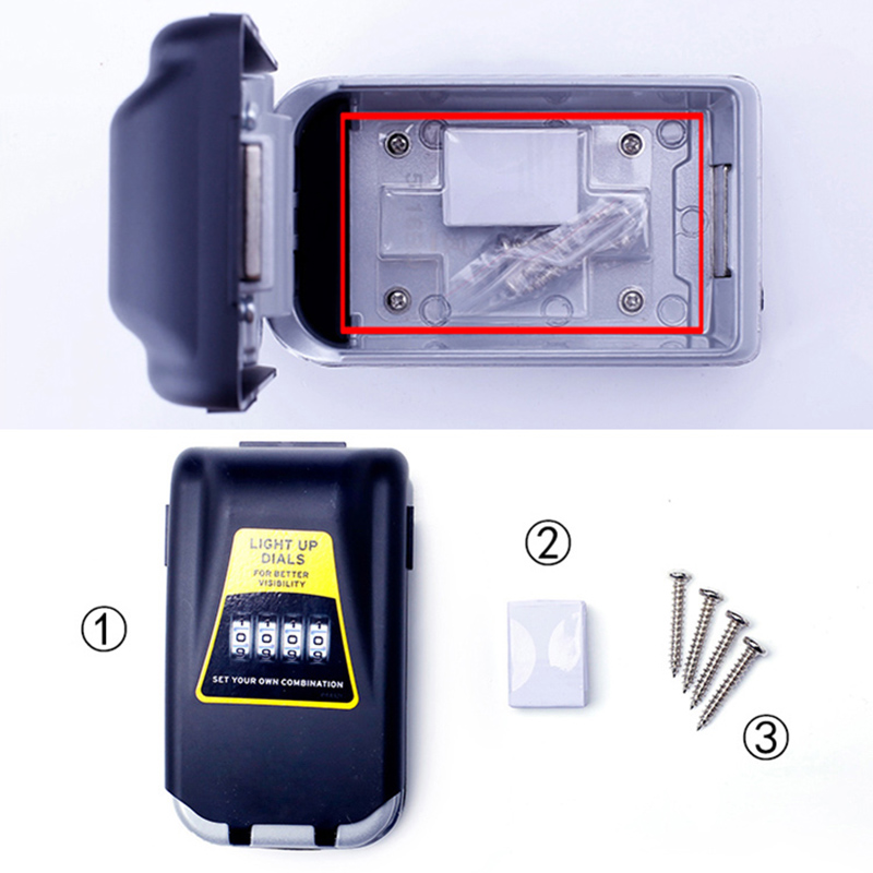 caixa de armazenamento chave bloqueio 05