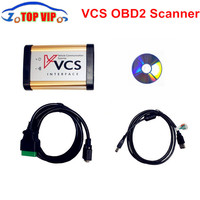 2016 New Arrival VCS Vehicle Communication Scanner Interface VCS Scanner Better Than TCS Support Englsih Russian