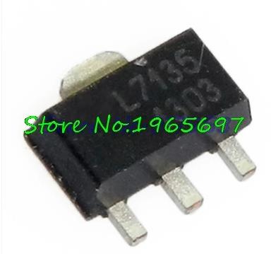 10pcs/lot AMC7135PKFT AMC7135 MEL7135 SOT-89 New Original In Stock