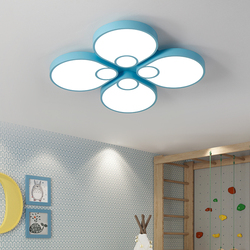 Przytulne romantyczne lampy sufitowe LED sypialnia kolor nowoczesne zwięzłe oryginalność lampa do pokoju dziecięcego lampy sufitowe lampy sufitowe swl319913