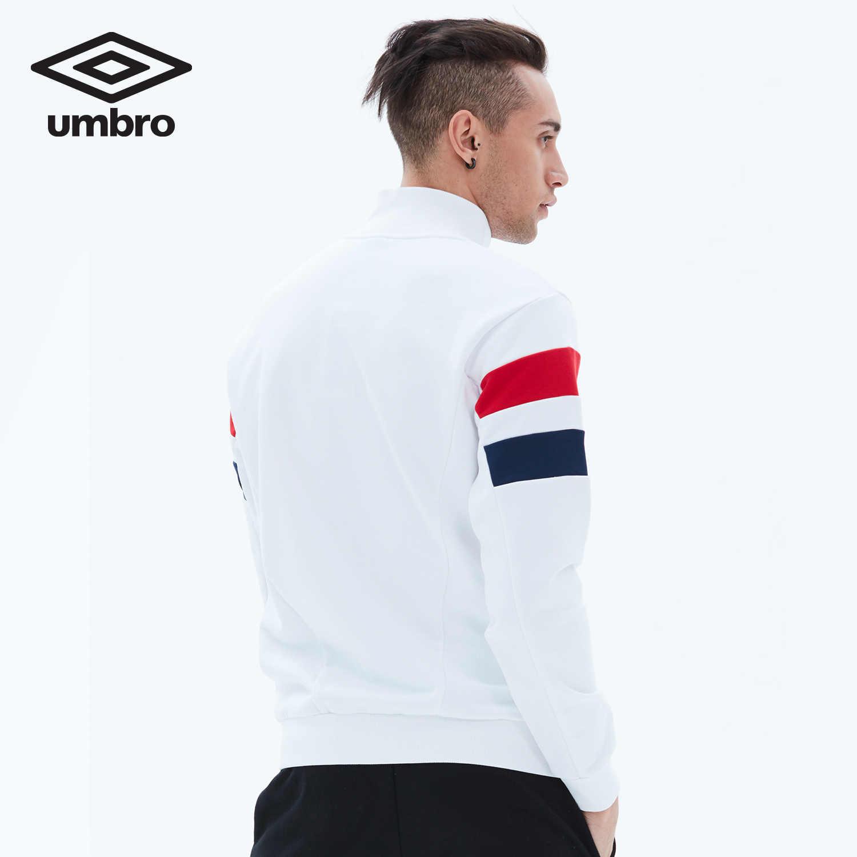 Umbro 2018 新しい男性レジャーなしキャップスポーツコートカーディガンセータースポーツウェア UO181AP2403