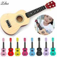 21 sopran Ukulele Linde Akustische Nylon 4 Strings Ukulele Bass Gitarre Musical Instrument für Anfänger oder Grundlegende spieler