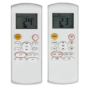 Image 2 - تكييف هواء جهاز تحكم عن بعد مناسب لـ ميديا Airfel Htw R57B1/BGE RIENT RG57B1 RG57B/BGE RG57B2 RG57D/BGE