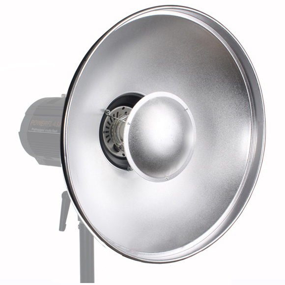 TOP Photo Studio Flash Beauty Dish 42cm S type Honeycomb White Diffuser