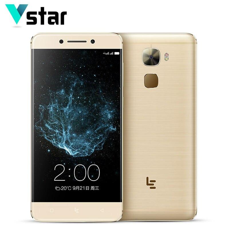 Цена за Оригинал letv leeco pro 3x720 android 6.0 5.5 дюймов smart телефон Snapdragon 821 Quad Core 6 ГБ RAM 64 ГБ NFC Отпечатков Пальцев 16.0MP