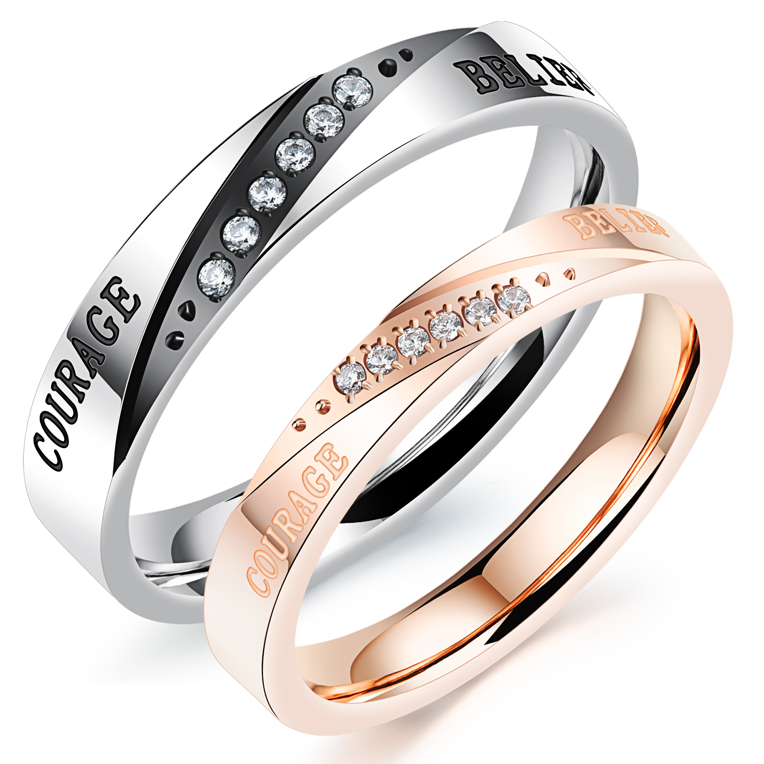 Online Get Cheap Black Couple Rings -Aliexpress.com | Alibaba Group
