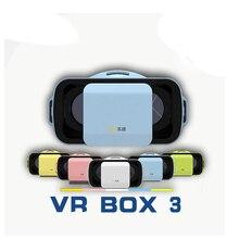 VR BOX III 3 LEJIVR Mini Virtual Reality Glasses Box 3D Video Movie Movie VR Headset Cardboard 3.0 for 4.5/5.0-5.5″ Moblie Phone