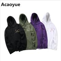 2017 Autumn Winter New Your Pablo Hoodies Hip Hop Kanye West I FEEL LIKE Paul Pullovers