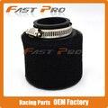 48mm Foam Air Filter Cleaner For 160cc 200cc 250cc 300cc  Motorcycle Pit Dirt Monkey Dax Bike ATV Quad Snowmobile Free Shipping