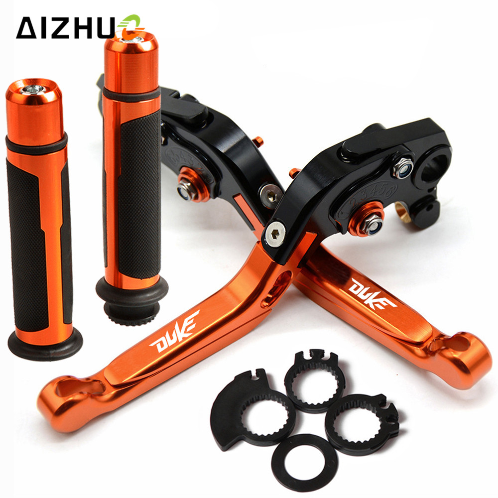 For KTM DUKE 200 DUKE200 RC200 2014-2017 2015 2016 Motorcycle Brake Clutch Lever Extendable Adjustable Hand Grip HandlebarFor KTM DUKE 200 DUKE200 RC200 2014-2017 2015 2016 Motorcycle Brake Clutch Lever Extendable Adjustable Hand Grip Handlebar