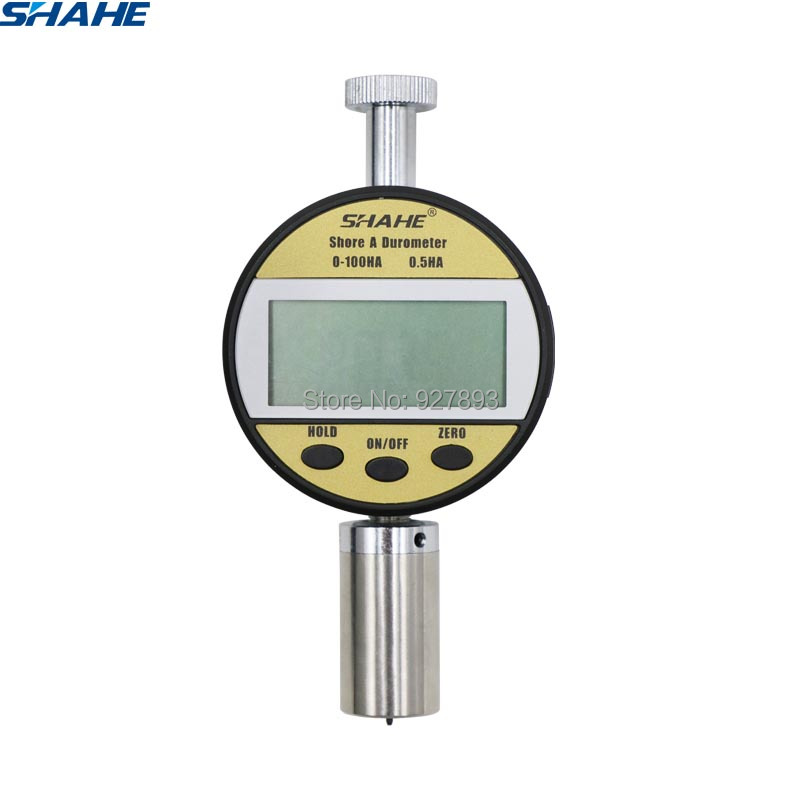 Digital  Shore Hardness Tester Hardness Test Gauge Measuring For Hardness LXD-A Portable Hardness Tester