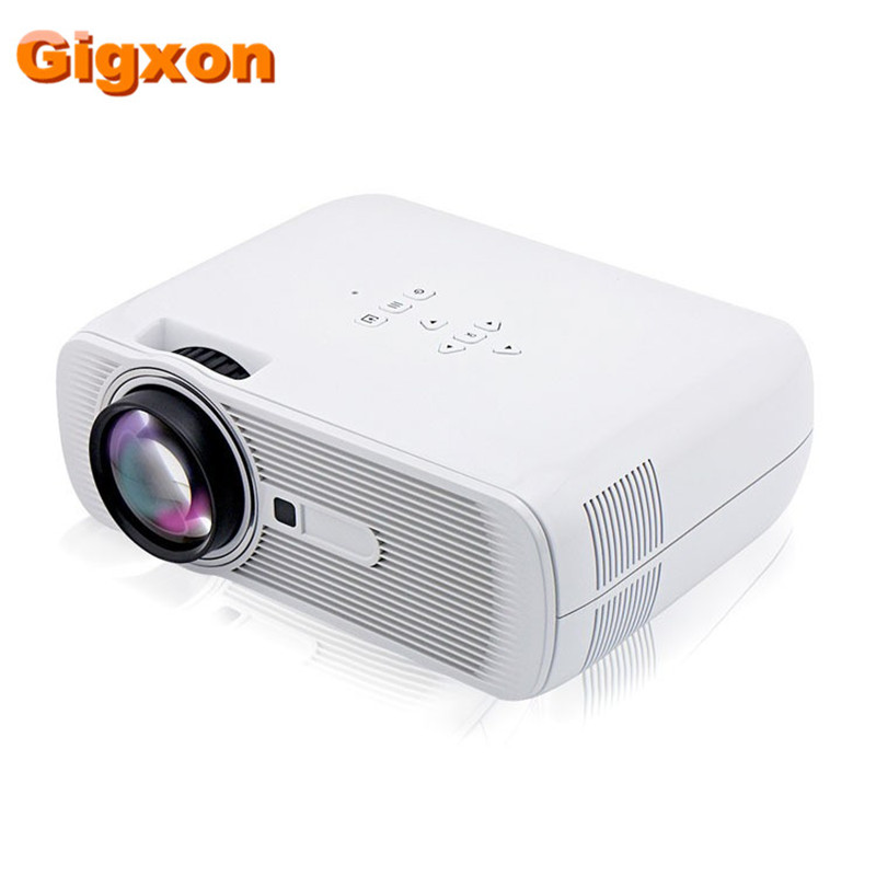 Gigxon G80 2016 Best Mini LED Projector 1000 Lumens 1080P Full HD Contrast Ratio 1000 1