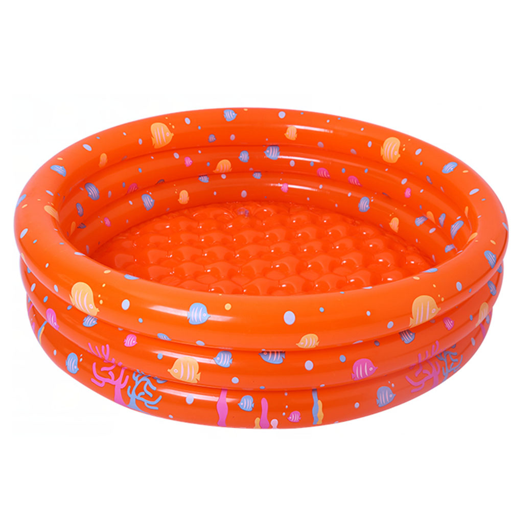 Summer Baby Kids Inflatable Round Swim Pool Safety Float Thickened Ocean Ball Pool Play  ...