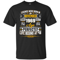 Legends Were Born In November 1969 Shirt 48th Birthday Gift
