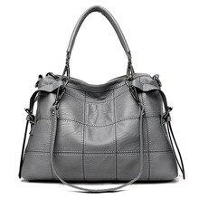 Роскошные сумки из натуральной кожи, женские сумки, дизайнерские Брендовые женские сумки через плечо, большие вместительные дамские ручные сумки-тоут