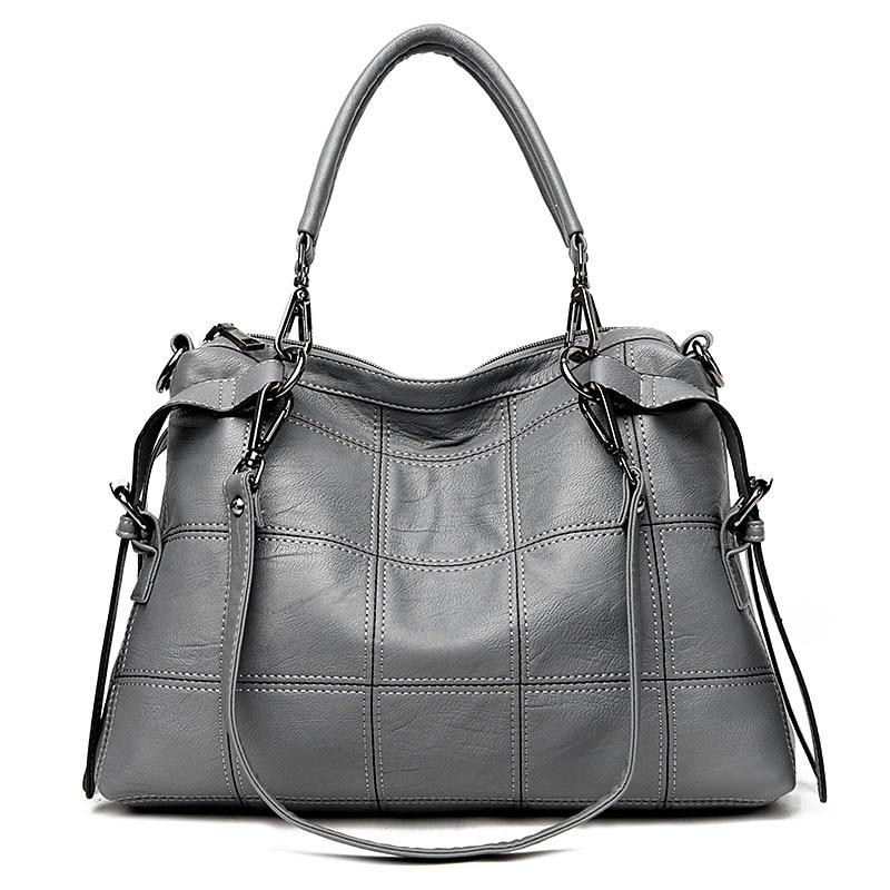 2019 Luxury Genuine Leather Handbags Women Bags Designer Brand Women's Shoulder Bags Large Capacity Ladies Hand Bags Tote