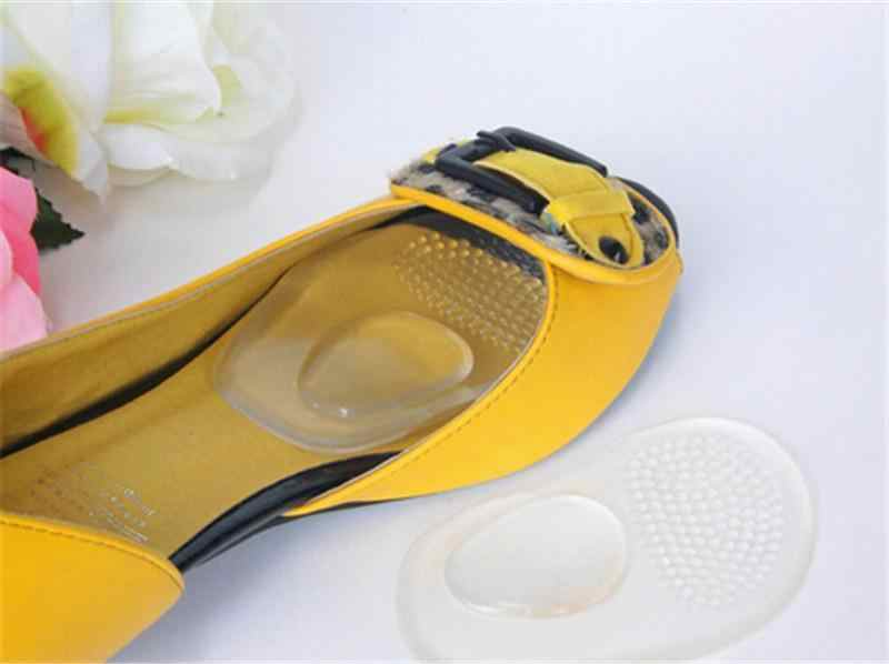 JETTING Gel de silicona Orthotic arco soporte almohadillas antideslizantes zapato plantillas 1 par