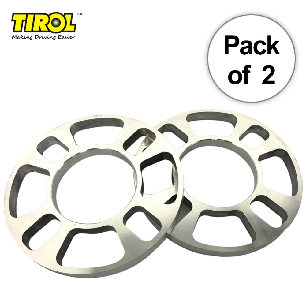 Doelstelling Tirol 2 Pcs Universele Wiel Spacer 4 Gat Schijfrem Spacer Kit 12mm Dikke Wiel Spacer T12851glb