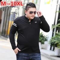 10XL 8XL 6XL 5XL 4XL Long Sleeve T Shirt Men Brand Clothing High Quality New Arrival