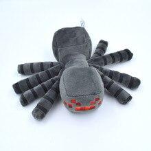 1PCS New Minecraft Toys High Quality Minecraft Spider Plush font b Dolls b font Stuffed Toys