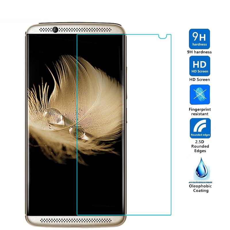 Screen Protector Film For ZTE Axon 7 2017 Glass 9H Tempered Glass Anti-Explosion Protector Phone Film For ZTE Axon 7 2017 Glass