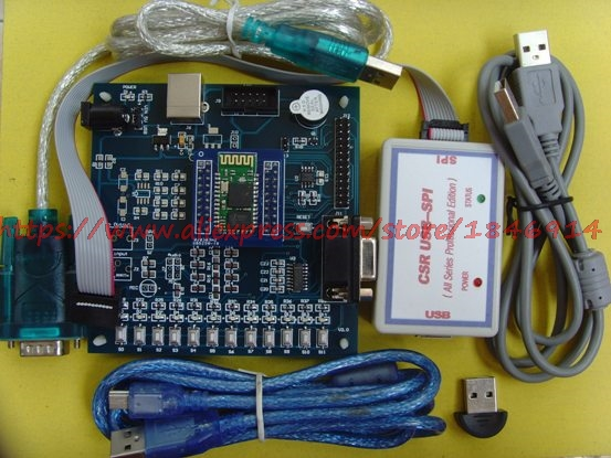 Free Shipping CSR BC417143  Bluetooth Wireless Data Transmission Development Board SPP, Provides Software, Tutorials,source Code