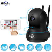 HD 720P IP Camera WiFi Wireless Network HD TF Card Record Network Security CCTV Night Vision