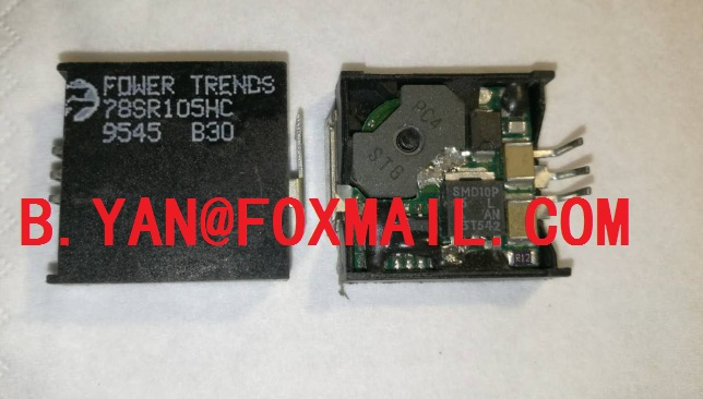 POWER TRENDS 78SR105HC 78ST105HC 78SR105VC 78SR105SC 3PSIP DC DC Converters 5Vout 1 5A