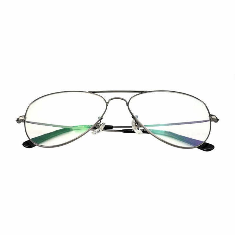 f2636be05bab9 ... Retro Vintage Round Metal Frame Eyeglasses Mens Womens Nerd Clear Lens  Glasses Transparent Optical Eyewear Plain