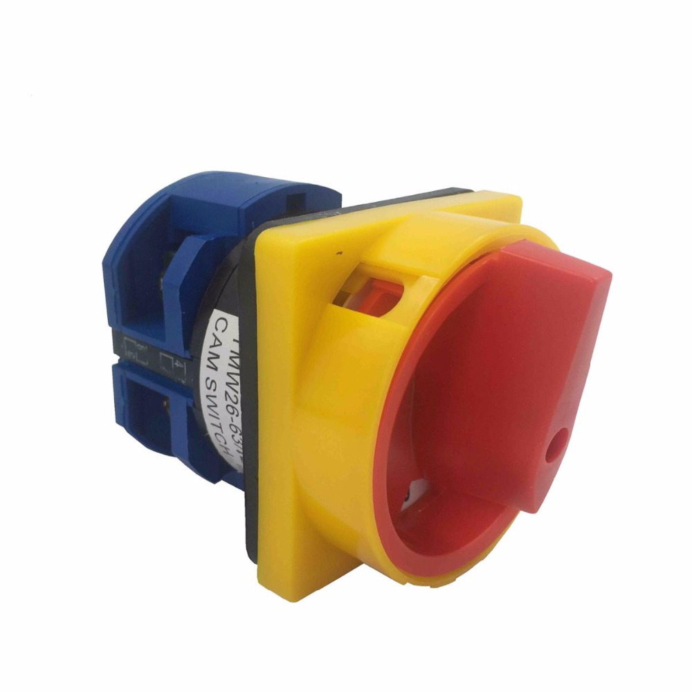 Padlock Type Universal Change-over Switch LW26-63/1GS Emergency Stop Power Supply Cut Off Switch 1 Section 2 Archives ON-OFF original switch on off power