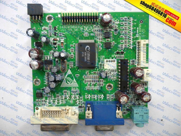 Free Shipping> X192W driver board logic board DA0L9FMB031 -Original 100% Tested Working free shipping ha nnstar hc174 logic board 39 x1910100g000 driver board original 100% tested working