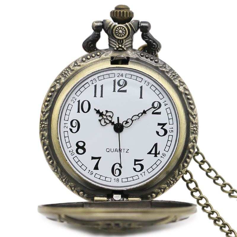 Firefighter Crest Pocket Watch
