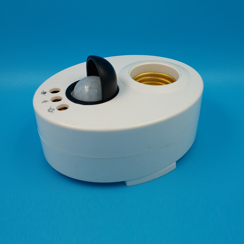 1pc hot PIR <font><b>Motion</b></font> Switch Detector 110V 220V E27 <font><b>LED</b></font> Bulb Base <font><b>Infrared</b></font> <font><b>IR</b></font> Sensor Light Automatic Wall Light Lamp Holder Socket